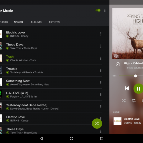 Concept shows what tablet-optimised Spotify version could look like