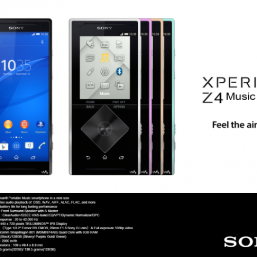 The next Sony Xperia Z4 could be a Walkman 'with a phone'