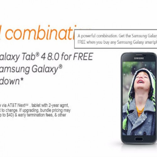 AT&T offering the Samsung Galaxy Tab 4 for Free