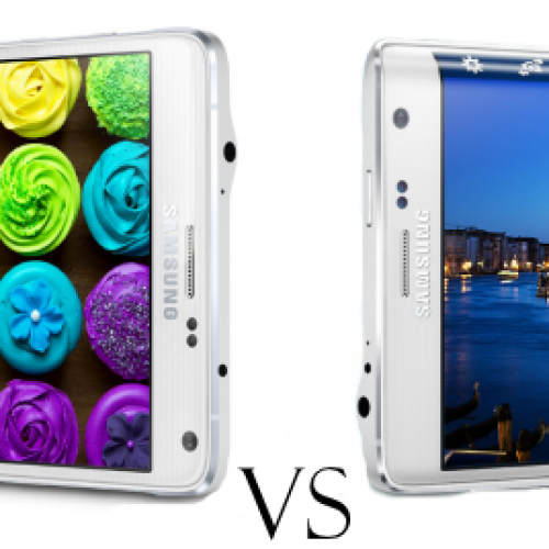 Samsung Note 4 vs. Samsung Note Edge