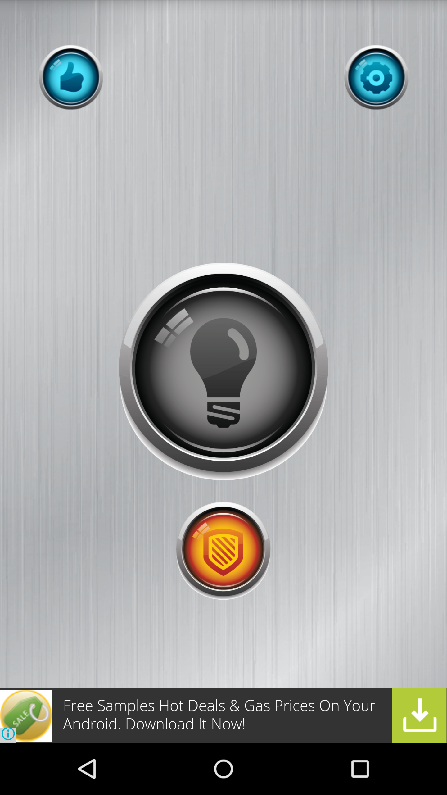 Flashlight interface