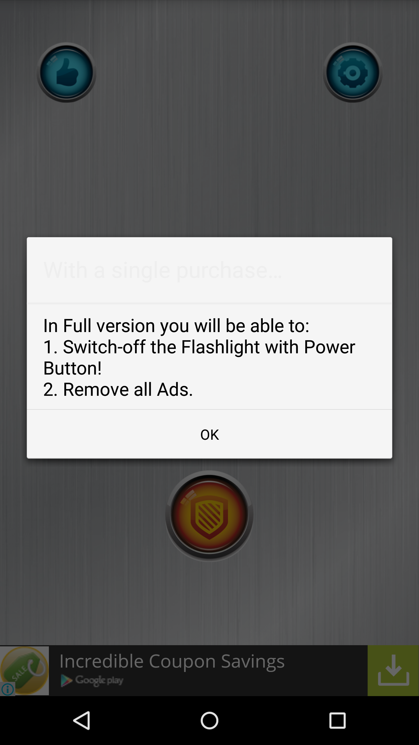 Flashlight paid options