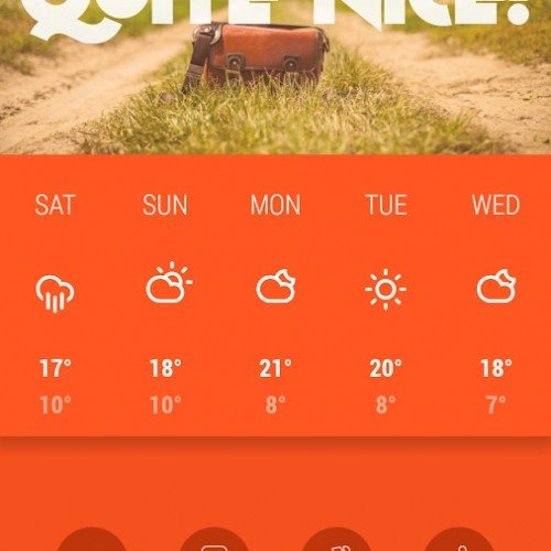 Kairoskopion weather app review