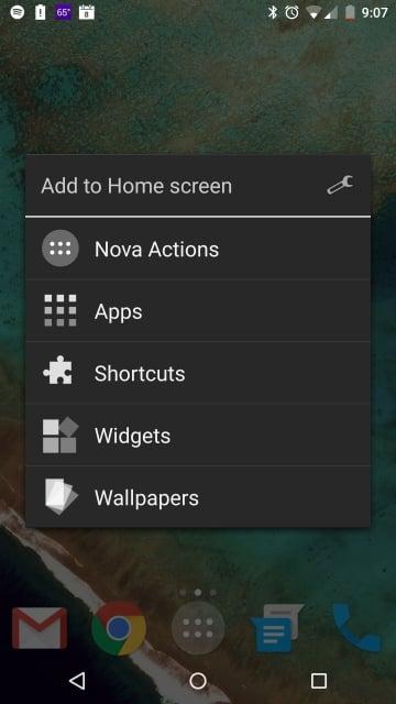 Nova Launcher menu (360x640)