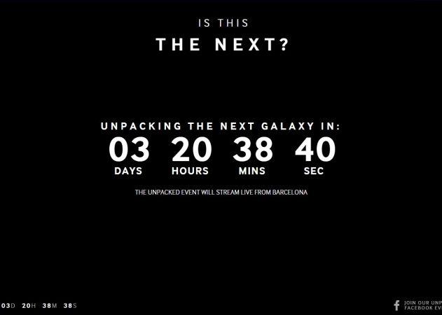 Samsung Galaxy S6 Countdown Clock
