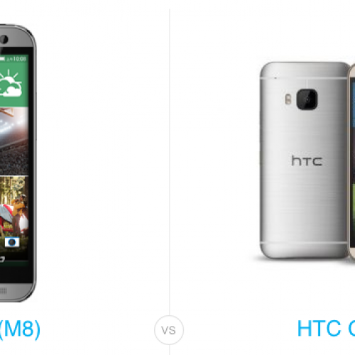 Old versus new: HTC One M8 vs HTC One M9