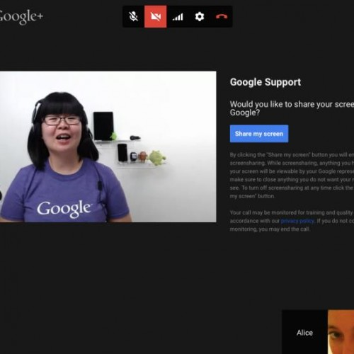Google is testing Hangouts-based customer service