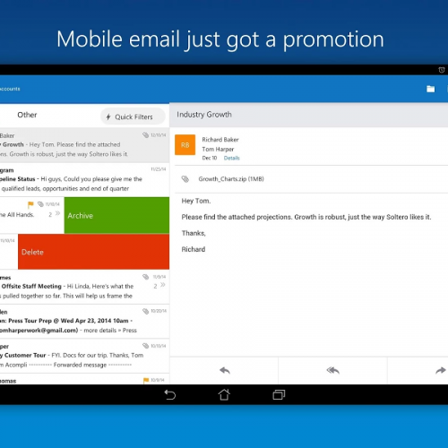 Microsoft Outlook Preview delivers unified calendar, email, contacts, and more