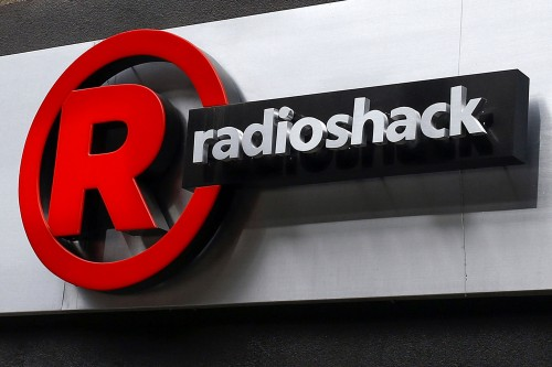 Sign for a RadioShack store