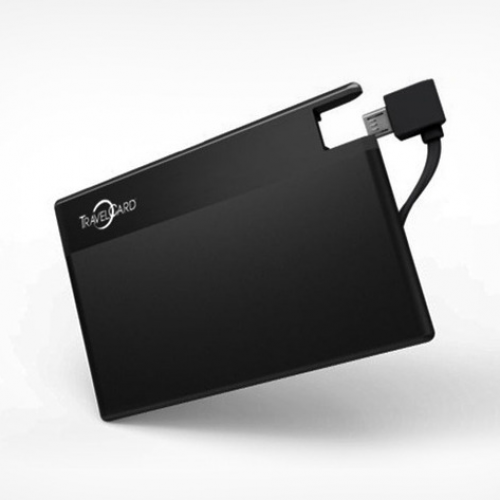 TravelCard wallet-friendly slim charger, $29