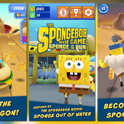 SpongeBob: Sponge on the Run brings endless runner to Bikini Bottom