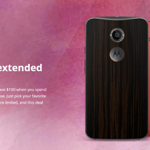 Motorola extends online promotion through February 17