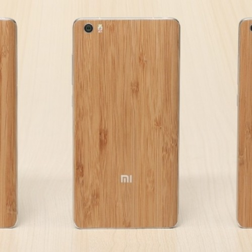 Special edition Xiaomi Mi Note announced with natural bamboo back.