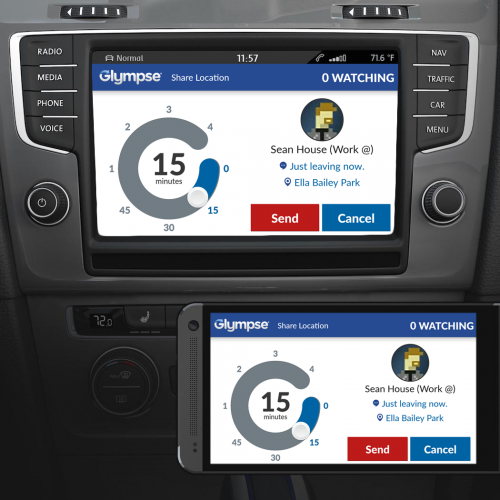 Glympse introduces Glympse for Autos; debuts partnership with  Volkswagen and Peugeot