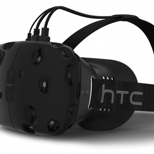 HTC announces virtual reality headset, 'Vive'
