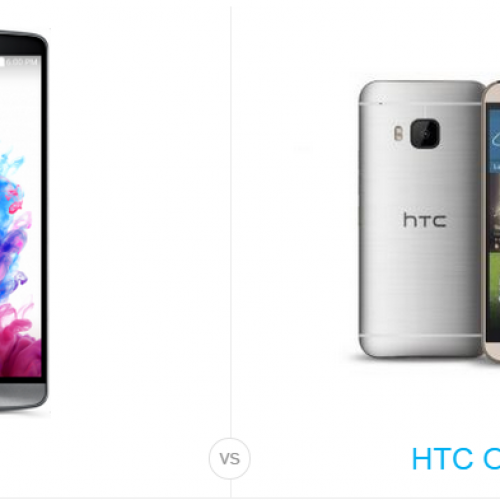 HTC One M9 vs. LG G3