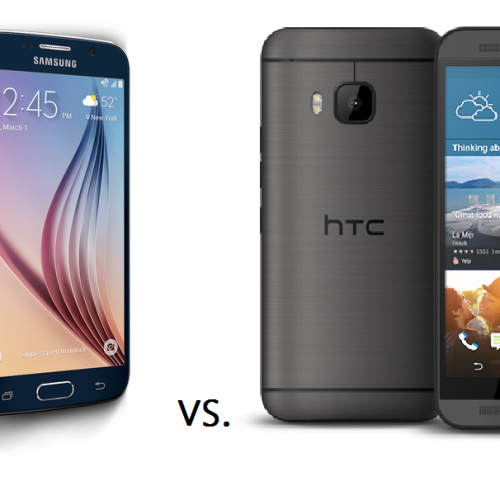 Samsung Galaxy S6 vs. HTC One M9