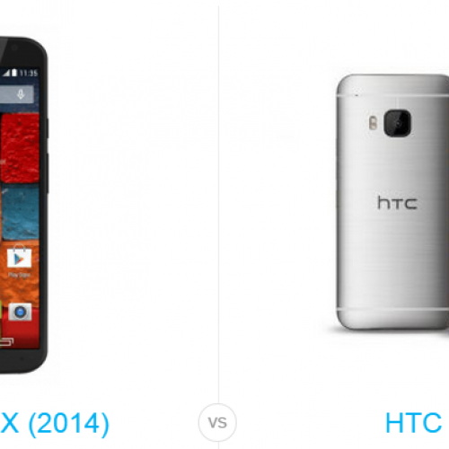 HTC One M9 vs. Motorola Moto X