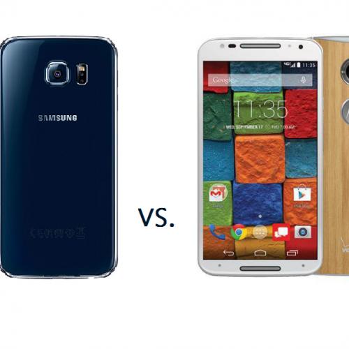 Samsung Galaxy S6 vs. Motorola Moto X 2014