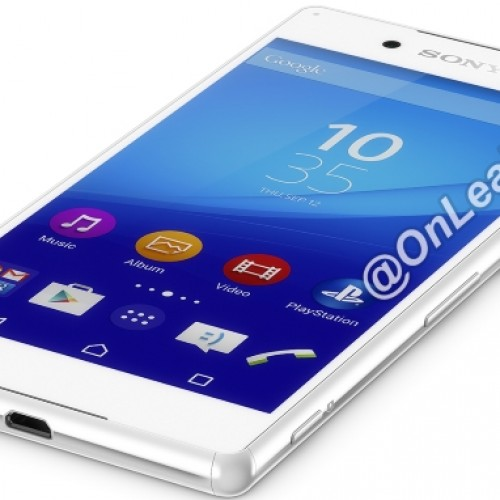 Leaked renders showcase Sony's upcoming flagship, the Xperia Z4.