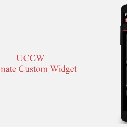 Creating widgets with UCCW (Monday Makeover)