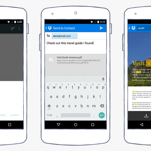 New update for Dropbox for Android brings a PDF viewer and in-document search