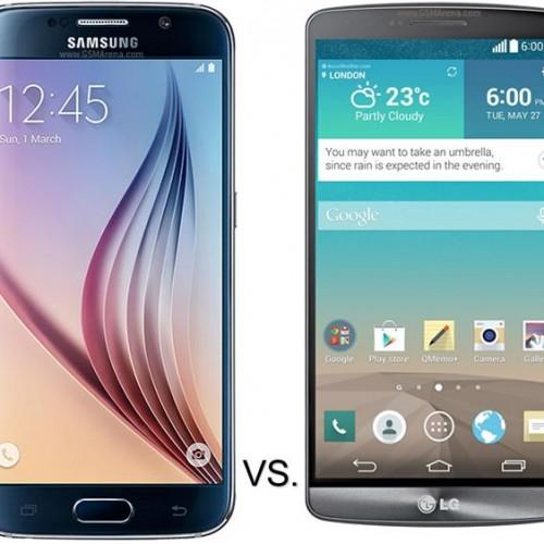 Samsung Galaxy S6 vs. LG G3