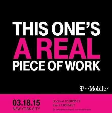 T-Mobile Uncarrier Event Invite