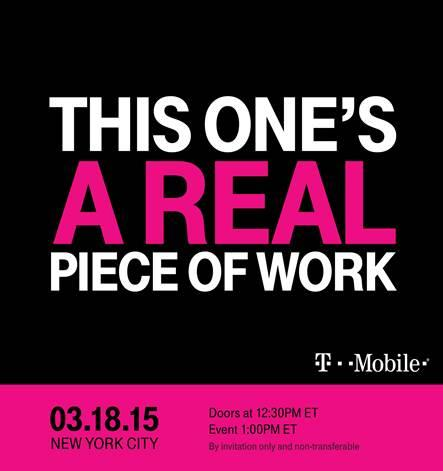 T-Mobile Uncarrier Event Invite