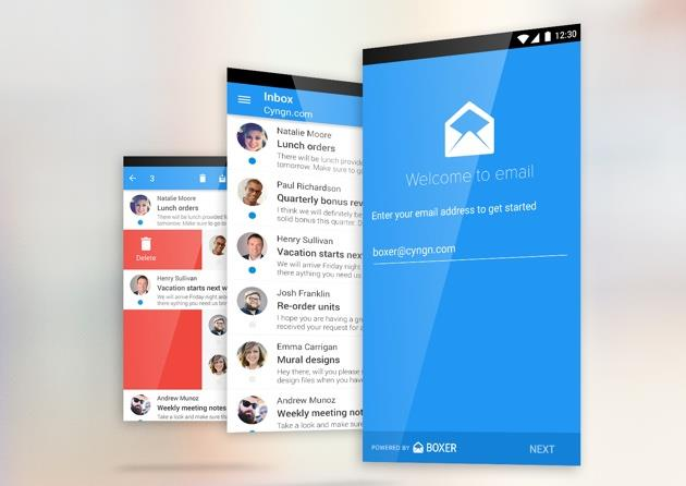 Boxer Email (coming to Cyanogen)