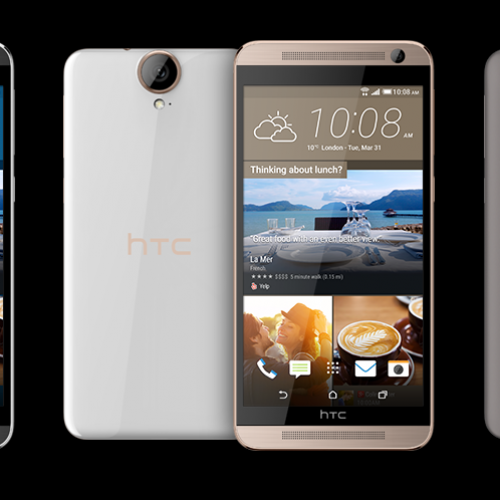 HTC One E9+ quietly debuts in China