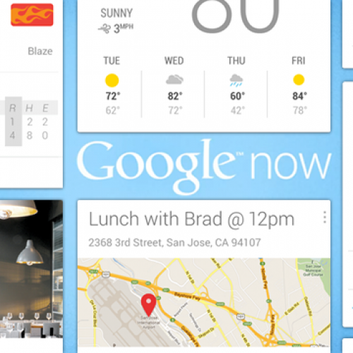 Google Now open API on its way