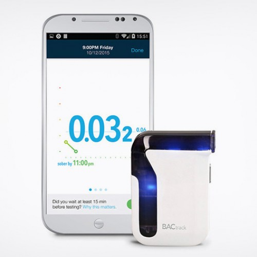 BACtrack Mobile Breathalyzer, $84.99