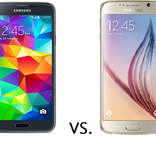 Samsung Galaxy S6 vs. Galaxy S5