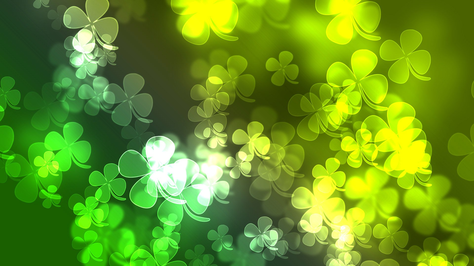 patricks day shamrock background-#16