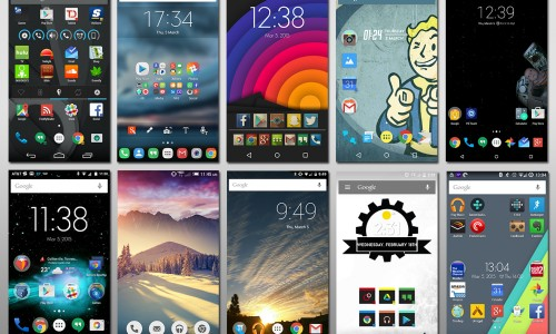 What We're Rockin': Our home screen setups for Android