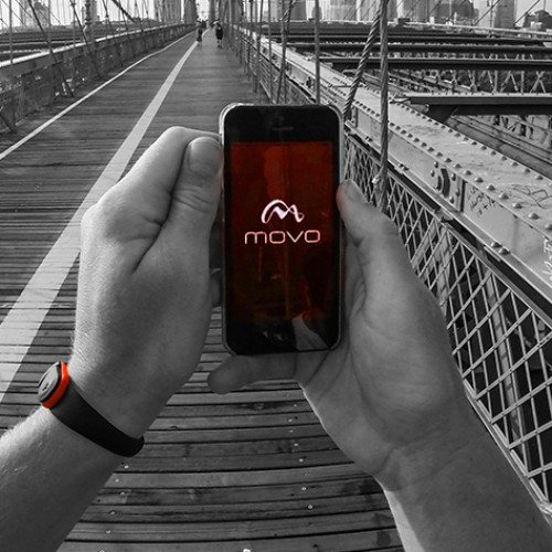 Movo Wave fitness and activity tracker, $25