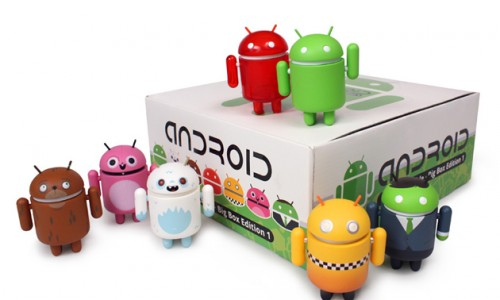 Android Bot Collection + Plush Bundle, $19.99