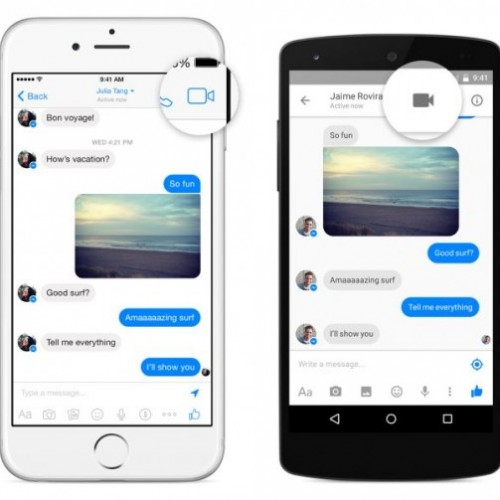 Facebook introduces video calling feature to its messenger app