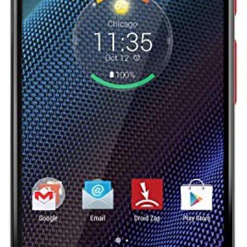 Motorola DROID Turbo, Metallic Red 32GB (Verizon Wireless)