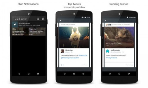 Twitter introduces a simple summary of the best Tweets for you called Highlights