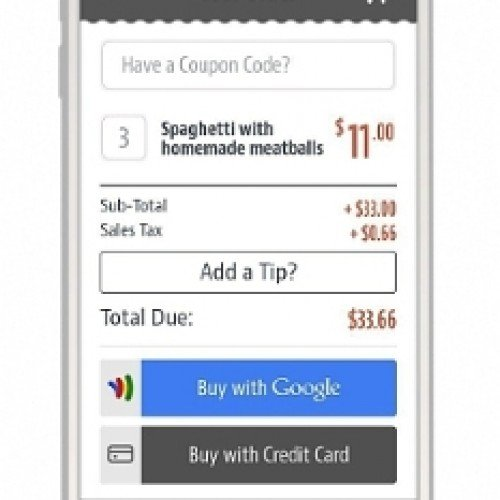 Google partners with ChowNow to bring Google Wallet to  thousands of restaurants