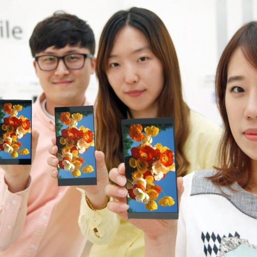 LG unveils the G4 display