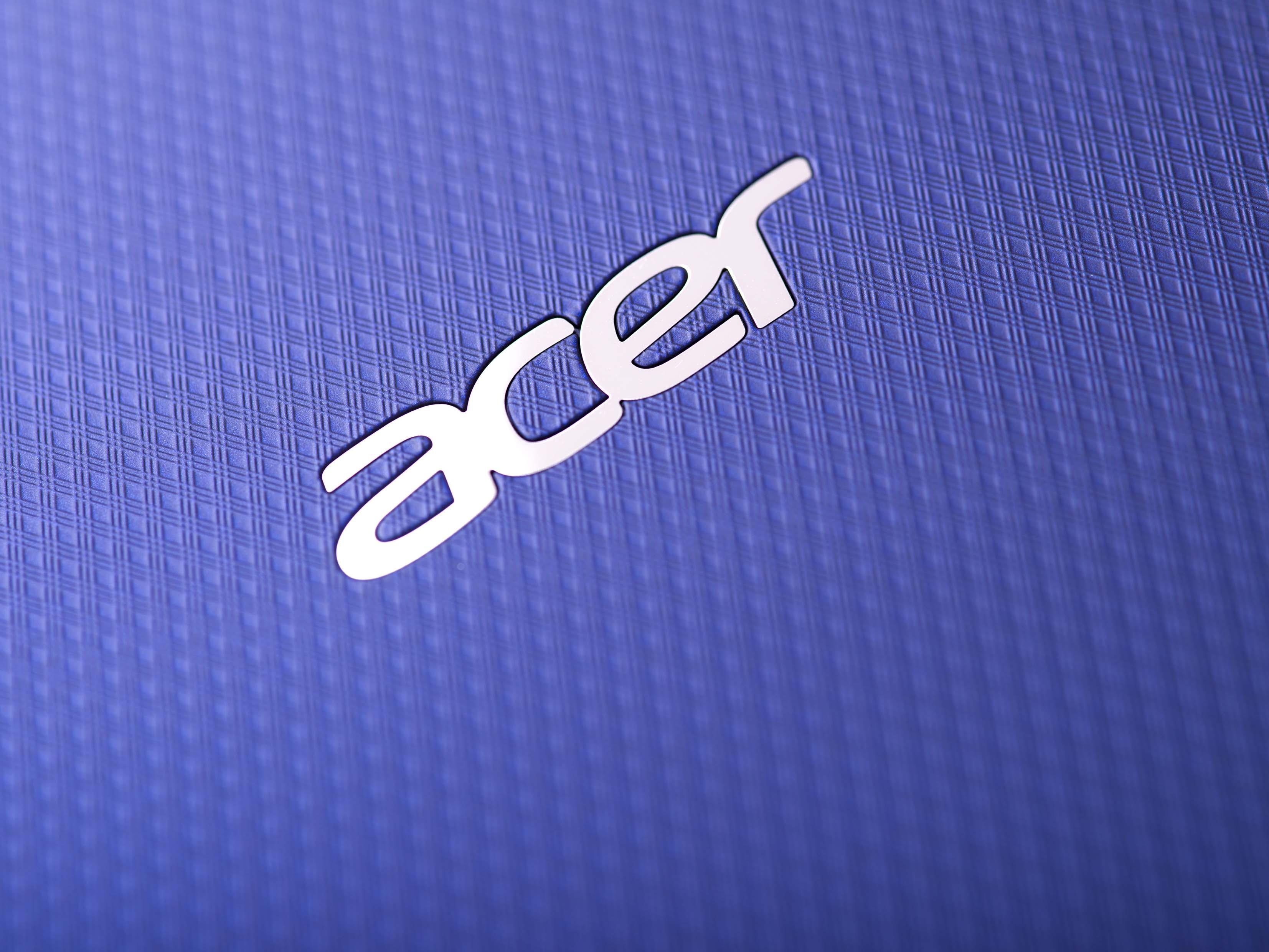 The Acer Logo on the new Iconia Tab 10