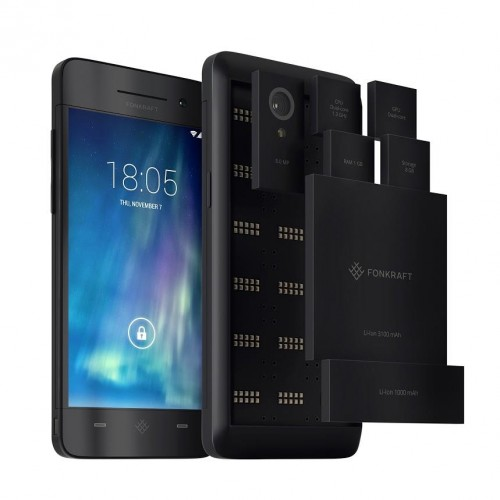 Meet Fonkraft, the world's first crowdsourced modular smartphone
