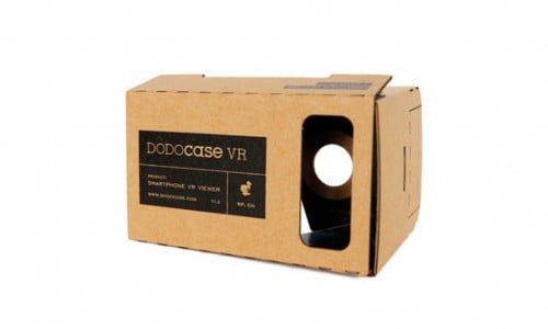 DODOcase Cardboard VR viewer being offered for free