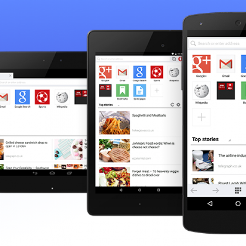 Opera Mini gets Material Design makeover