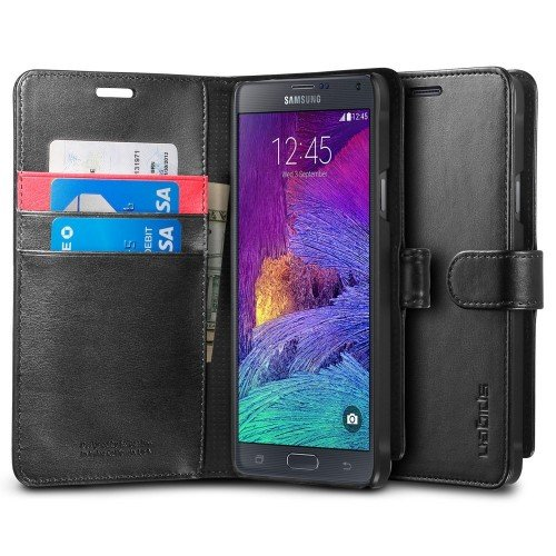 Galaxy Note 4 wallet case, $4.25