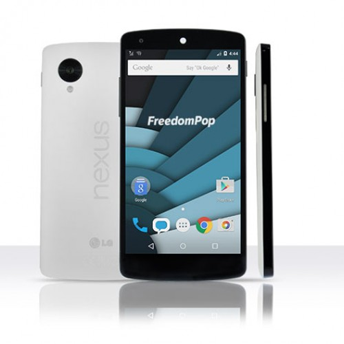 FreedomPop Nexus 5 + Talk & Text, $199.99