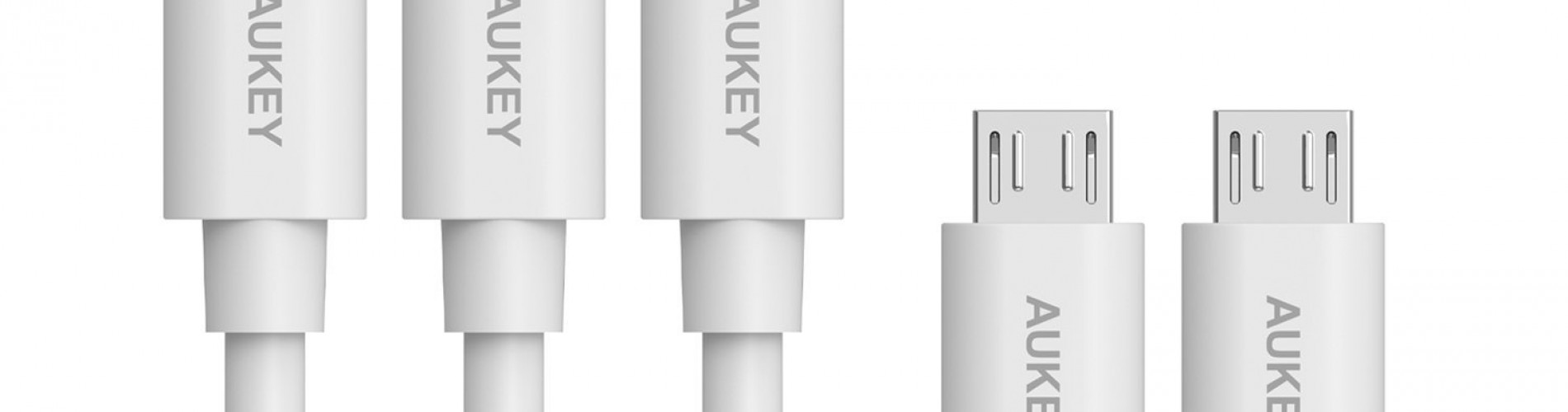 5-pack MicroUSB cables, $6.49
